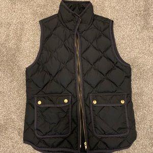 JCrew black vest
